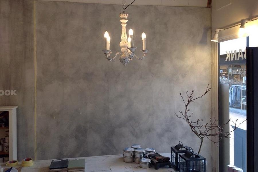 Betonlook op muur great with betonlook op muur cheap betonlook
